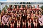 Mendon Vikings Girls Varsity Field Hockey Fall 18-19 team photo.