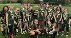 Clay Eagles Girls Varsity Lacrosse Spring 18-19 team photo.