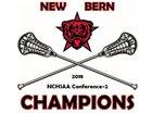 New Bern Bears Girls Varsity Lacrosse Spring 18-19 team photo.