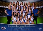 Christian Brothers Falcons Girls Varsity Lacrosse Spring 18-19 team photo.