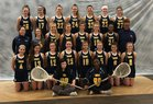 University School of Milwaukee Wildcats Girls Varsity Lacrosse Spring 18-19 team photo.