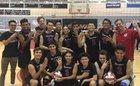 Verdugo Hills Dons Boys Varsity Volleyball Spring 18-19 team photo.