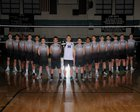 Santiago Sharks Boys Varsity Volleyball Spring 18-19 team photo.