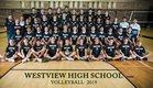 Westview Wolverines Boys Varsity Volleyball Spring 18-19 team photo.