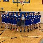 Kennedy Crusaders Boys Varsity Volleyball Spring 18-19 team photo.