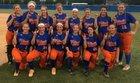 Whiteville Wolfpack Girls Varsity Softball Spring 16-17 team photo.