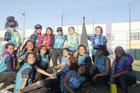 Contreras Cobras Girls Varsity Softball Spring 16-17 team photo.
