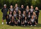 South Wolverines Girls Varsity Softball Spring 16-17 team photo.