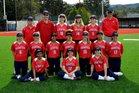 Saratoga Falcons Girls Varsity Softball Spring 16-17 team photo.
