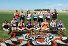Ulysses Tigers Girls Varsity Softball Spring 16-17 team photo.