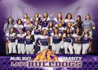 McAllen Bulldogs Girls Varsity Softball Spring 16-17 team photo.