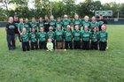 North Central Thunderbirds Girls Varsity Softball Spring 16-17 team photo.
