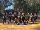 Newberry Panthers Girls Varsity Softball Spring 16-17 team photo.