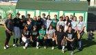 Granada Hills Charter Highlanders Girls Varsity Softball Spring 16-17 team photo.