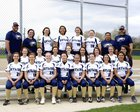 Skyline Eagles Girls Varsity Softball Spring 16-17 team photo.