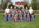 Lockport Porters Girls Varsity Softball Spring 16-17 team photo.
