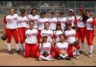 Garden Grove Argonauts Girls Varsity Softball Spring 16-17 team photo.
