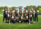 Longview Lobos Girls Varsity Softball Spring 16-17 team photo.
