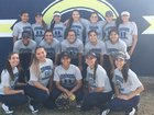 Coronado Thunderbirds Girls Varsity Softball Spring 16-17 team photo.