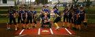 Ripon Christian Knights Girls Varsity Softball Spring 16-17 team photo.