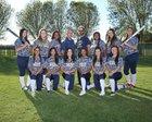West Wolfpack Girls Varsity Softball Spring 16-17 team photo.