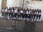 Goddard Rockets Girls Varsity Softball Spring 16-17 team photo.