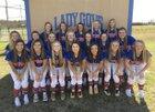 William Blount Governors Girls Varsity Softball Spring 16-17 team photo.