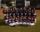 Rogers Heritage War Eagles Girls Varsity Softball Spring 16-17 team photo.