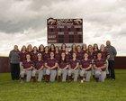 Lincoln Wolves Girls Varsity Softball Spring 16-17 team photo.