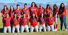 San Manuel Miners Girls Varsity Softball Spring 16-17 team photo.