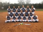 Claiborne Bulldogs Girls Varsity Softball Spring 16-17 team photo.
