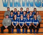Bellevue Christian Vikings Girls Varsity Softball Spring 16-17 team photo.