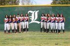 Liberty Patriots Girls Varsity Softball Spring 16-17 team photo.