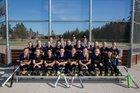 Friday Harbor Wolverines Girls Varsity Softball Spring 16-17 team photo.