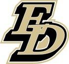 El Dorado Golden Hawks Girls Varsity Softball Spring 16-17 team photo.
