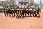 Raton Tigers Girls Varsity Softball Spring 16-17 team photo.