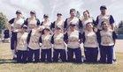 Notre Dame Tigers Girls Varsity Softball Spring 16-17 team photo.