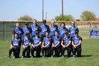 La Vernia Bears Girls Varsity Softball Spring 16-17 team photo.