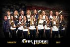 Oak Ridge Trojans Girls Varsity Softball Spring 16-17 team photo.