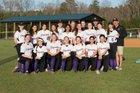Carrboro Jaguars Girls Varsity Softball Spring 16-17 team photo.