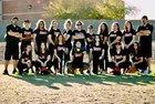 Imagine Prep Storm Girls Varsity Softball Spring 16-17 team photo.
