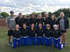 Jackson Christian Eagles Girls Varsity Softball Spring 16-17 team photo.