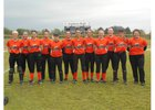 Bradford Eagles Girls Varsity Softball Spring 16-17 team photo.