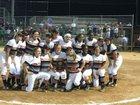 Orange Panthers Girls Varsity Softball Spring 16-17 team photo.