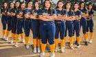 Wilson Mules Girls Varsity Softball Spring 16-17 team photo.