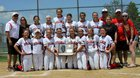 Stillman Valley Cardinals Girls Varsity Softball Spring 16-17 team photo.