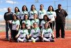 Pojoaque Valley Elks/Elkettes Girls Varsity Softball Spring 16-17 team photo.