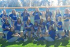 Beaumont Cougars Girls Varsity Softball Spring 16-17 team photo.