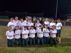 Rowe Warriors Girls Varsity Softball Spring 16-17 team photo.
