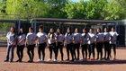 Jemez Valley Warriors Girls Varsity Softball Spring 16-17 team photo.